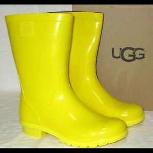 Kids Yellow Rainboots